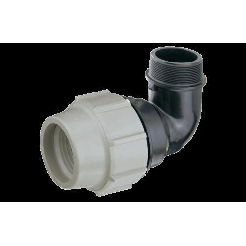 Coude Fileté PLASSON 20mm à 110mm - Série 7