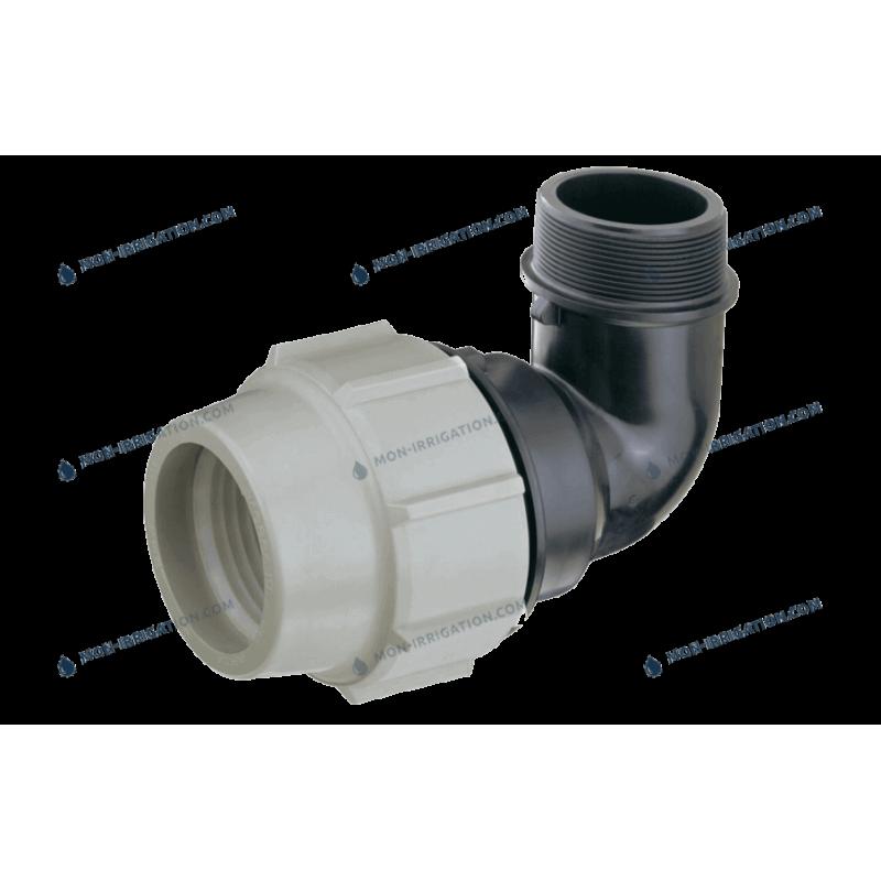 Coude Fileté PLASSON 16mm à 110mm - Série 7