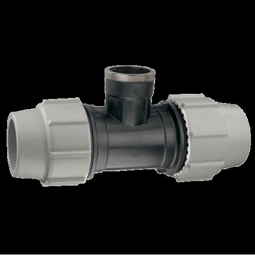 Té Taraudé PLASSON 16mm à 110mm - Série 7