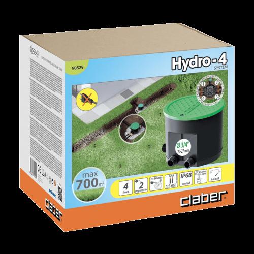 Programmateur d'arrosage CLABER HYDRO 4