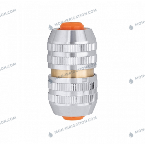 Raccord CLABER reparateur de tuyaux en laiton