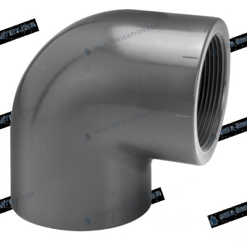 Coude taraude du diametre 32 a 40 mm VDL