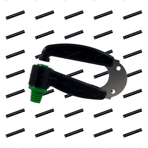 Arroseur BARS à lame inox Vert foncé - 1000 L/h - Diamètre 6m00
