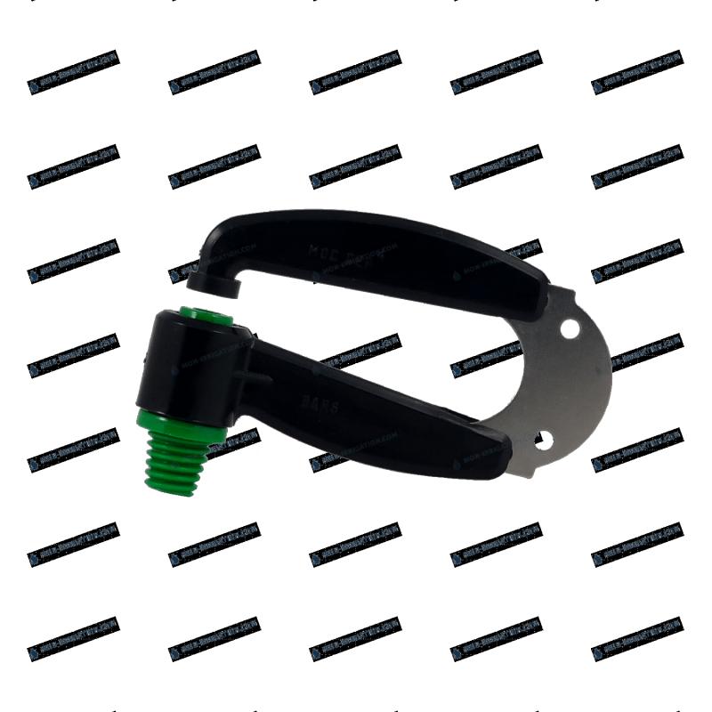 Arroseur à lame inox Vert foncé - 1000 L/h - Diamètre 6m00