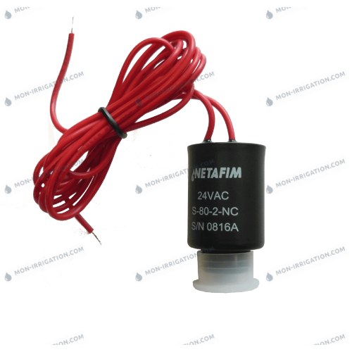 Solenoide 24 VAC alternatif electrovanne BERMAD / DOROT