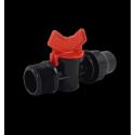 Mini vanne filetée / Lock pour goutte à goutte