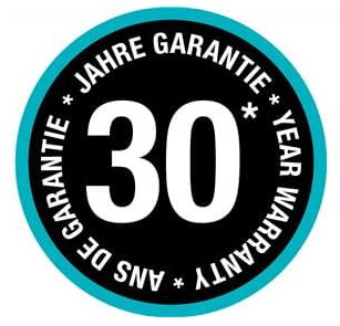 garantie gardena 30 ans