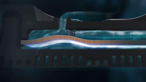 Illustration du système autonettoyant dripnet